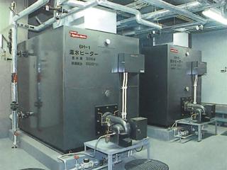 蓄熱貯湯式ボイラー